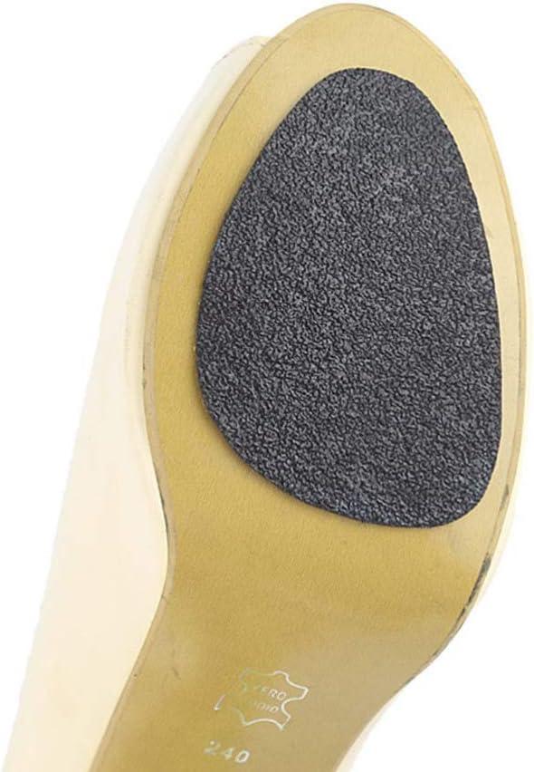 FENICAL Semelle Auto-Adh/ésive /à Talons Hauts Protecteurs en Caoutchouc Antid/érapant Patins de Chaussures pour Dames Chaussures