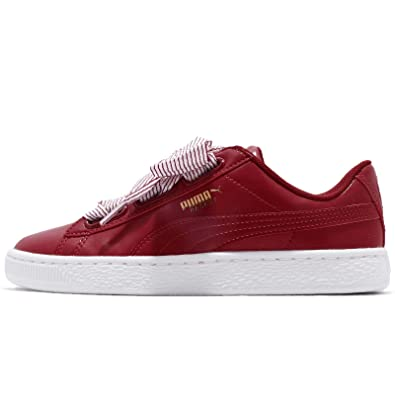 459cfa287273f1 Puma Women s Basket Heart WN s Shell Pink Sneakers-5 UK India (38 EU ...