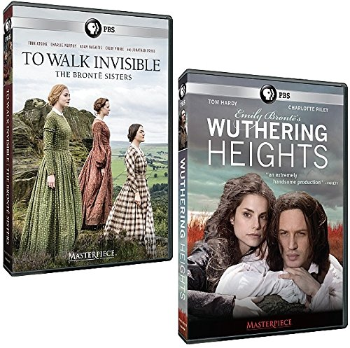DVD : Masterpiece Set: To Walk Invisible, The Bronte Sisters + Wuthering Heights