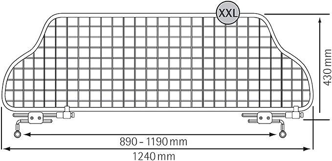 TGN-XL Kleinmetall Traficgard Trenngitter Hundegitter Gepäckgitter Trennnetz