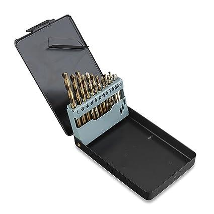 Cobalt Drill Bit Set >> Neiko 10178a Cobalt Coated Steel Drill Bit Set 1 16 Inch 1 4