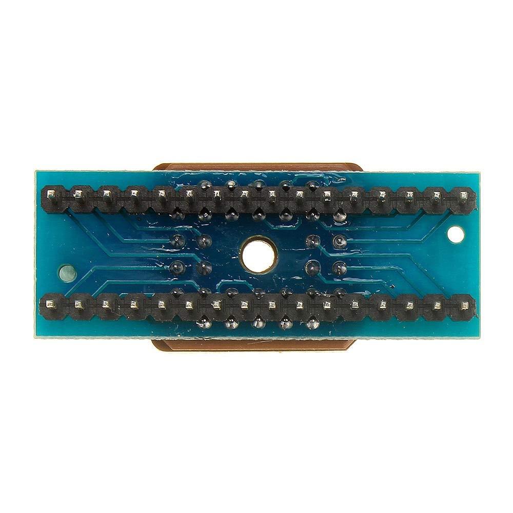 XZW AN M/ódulo de Transmisi/ón PLCC32 a DIP32 Programador IC Adaptador Enchufe for Arduino