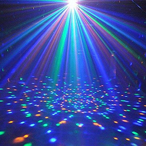 ️ Yu2d ❤️❤️ ️E27 3W AC85-260V Colorful Rotating Bubble Stage Light Disco DJ Party Light Bar]()