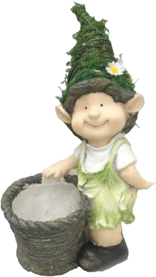 Macetero de jardín Figura niño I Modelo: 0216704i I Maceta para ...