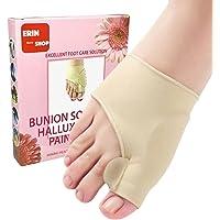 Erin Bunion Socks for Pain Relief Hallux Valgus - Splint Corrector Sport Big Toe Straightener Orthopedic Gel Separator…
