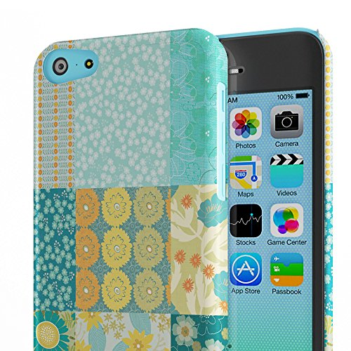 Koveru Back Cover Case for Apple iPhone 5C - Teal Pattern
