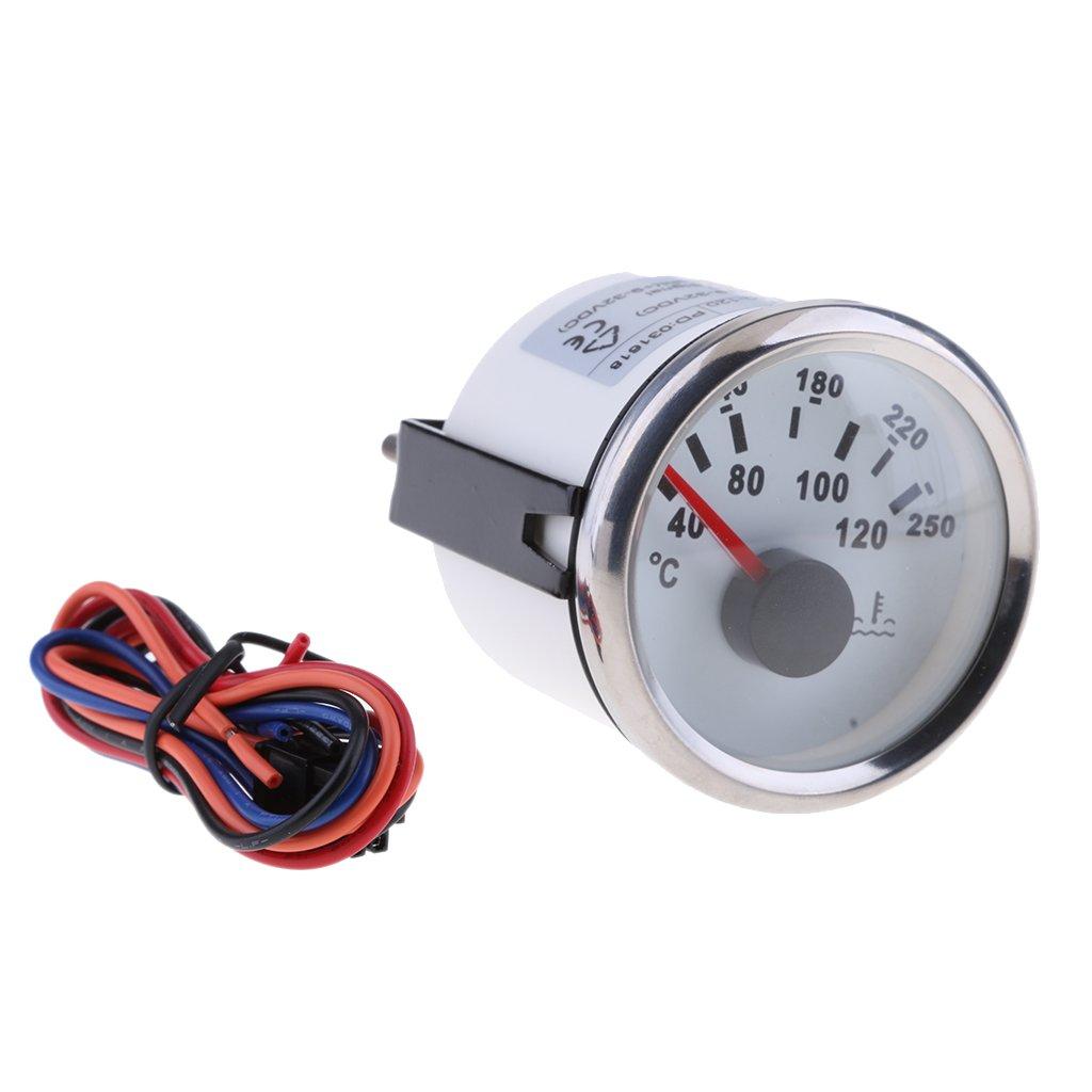 D DOLITY 2 '52mm Sensore Temperatura Acqua Auto 32 V Impermeabilità 40-120 Gradi Celsius