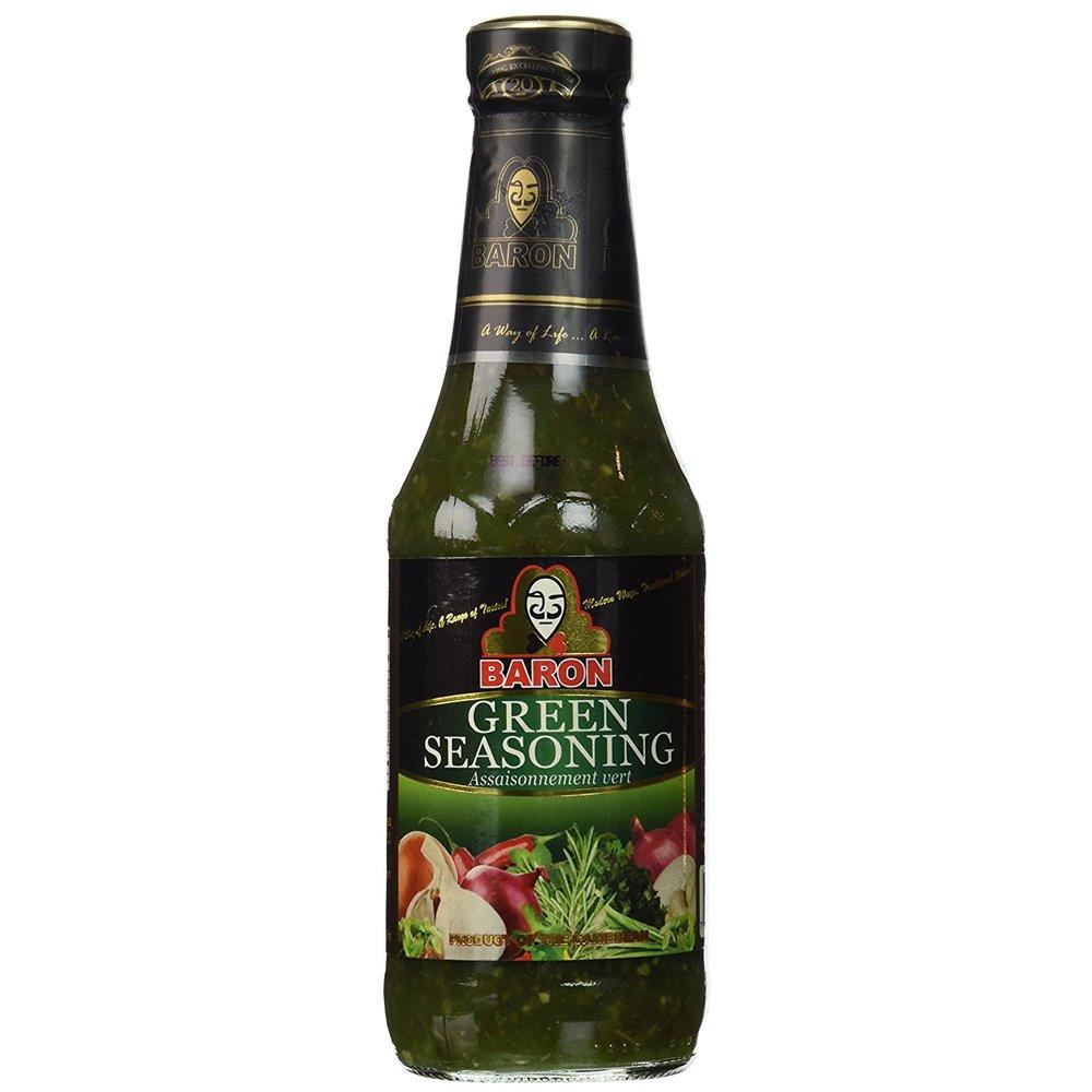Baron Green Seasoning, 14oz