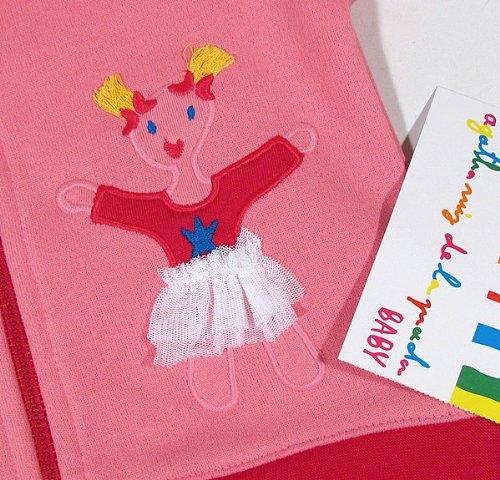 Agatha Ruiz De La Prada - Conjunto deportivo - para bebé niña rosa 9 mes : Amazon.es: Ropa y accesorios