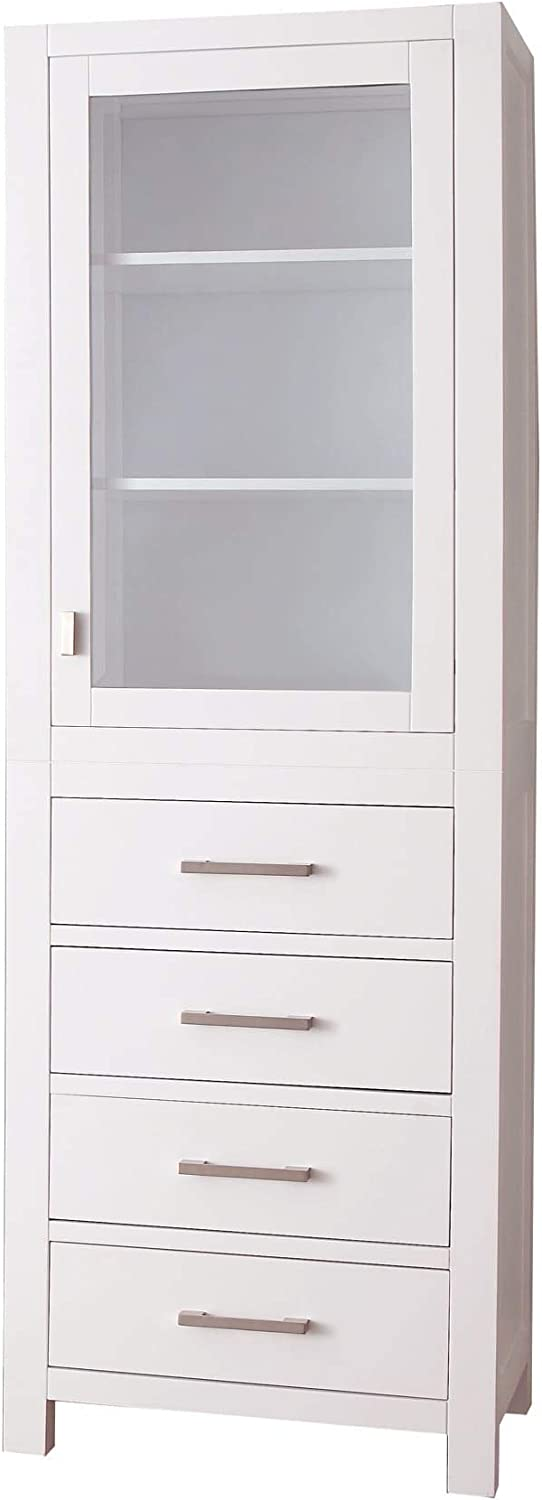 Avanity Modero 24 in. Linen Tower in White finish