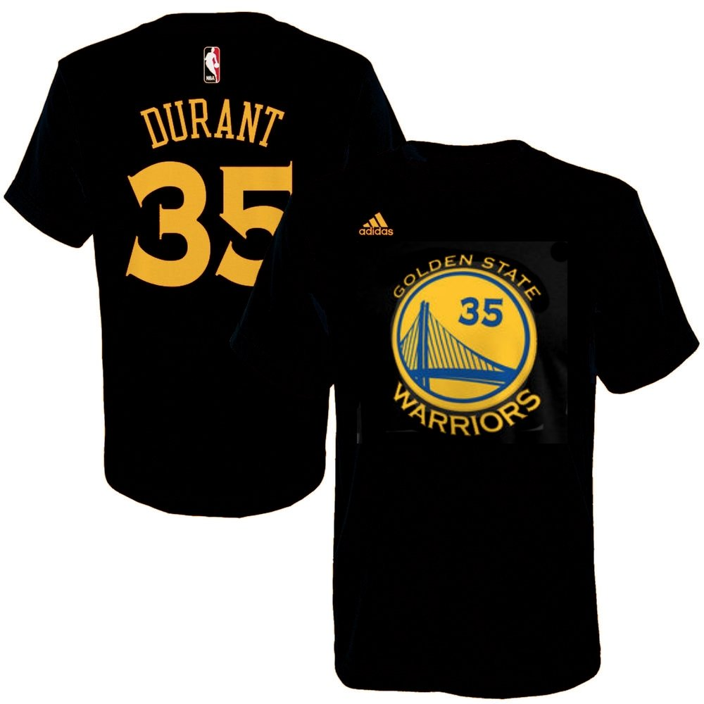 separation shoes 8f873 dc38f Amazon.com : Kevin Durant Golden State Warriors Black Jersey ...