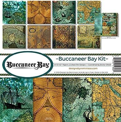 Reminisce Scrapbook Buccaneer Bay Collection Kit