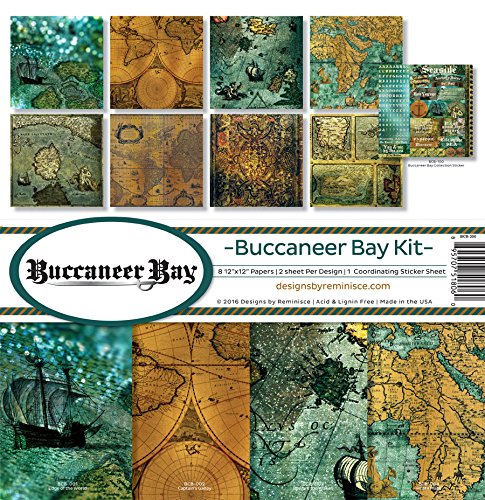 Reminisce Scrapbook Buccaneer Bay Collection Kit