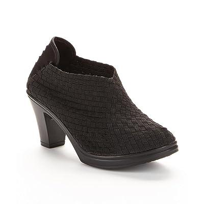 Bernie Mev Womens Chesca Basket Weave Closed Toe Pump Shoes | Shoes