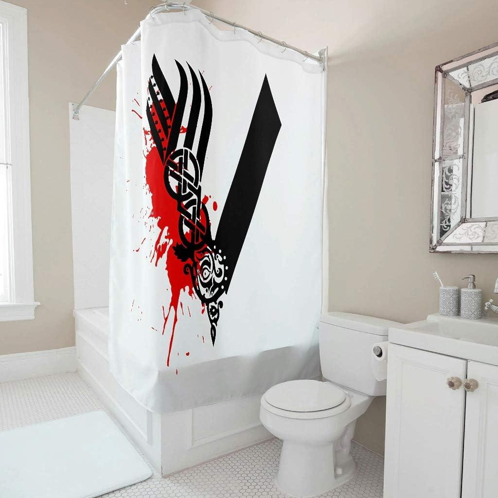 anneaux 180x200cm Rideau de douche bacs rideau baignoire rideau étanche