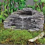 Miniature FAIRY GARDEN Shale Fountain NEW