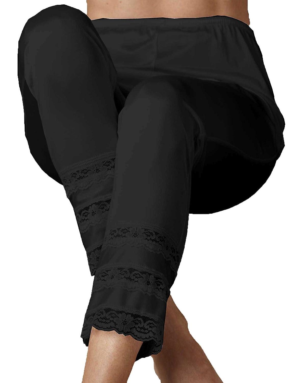 Velrose Women's Snip-It Long Pant Liner VELROSE-3502-BLACK-2X