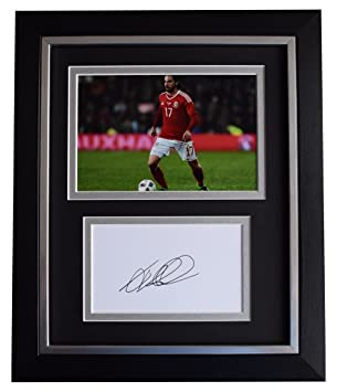 44e5b3f879c Sportagraphs Joe Allen SIGNED 10x8 FRAMED Photo Autograph Display Wales  Football AFTAL   COA PERFECT GIFT  Amazon.co.uk  Sports   Outdoors