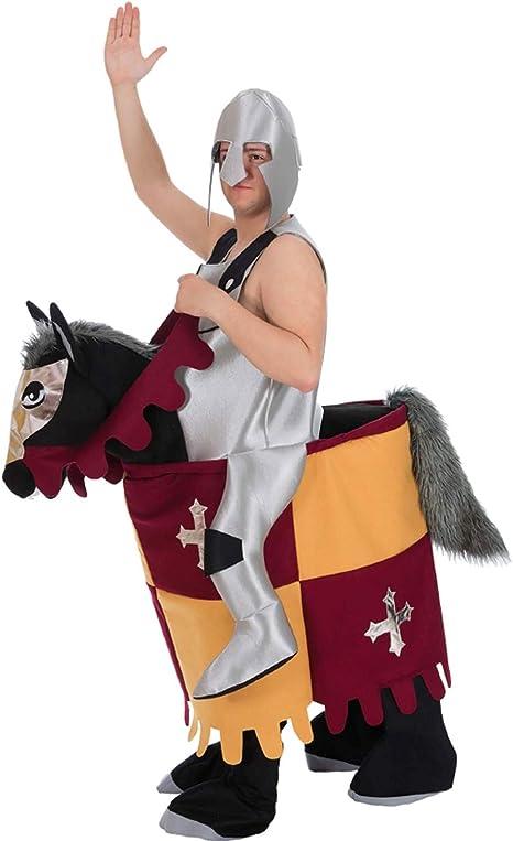 Nines dOnil Disfraz de Caballero Medieval Montando Caballo para ...
