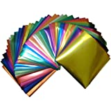 Amazon Com Hygloss Products Metallic Foil Paper Sheets 8 Assorted