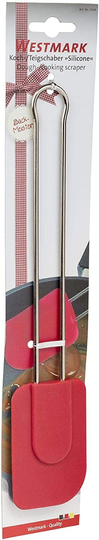 28.5x6x1.1 cm Westmark Silicone Rasqueta desprendedora para guisar y Masa