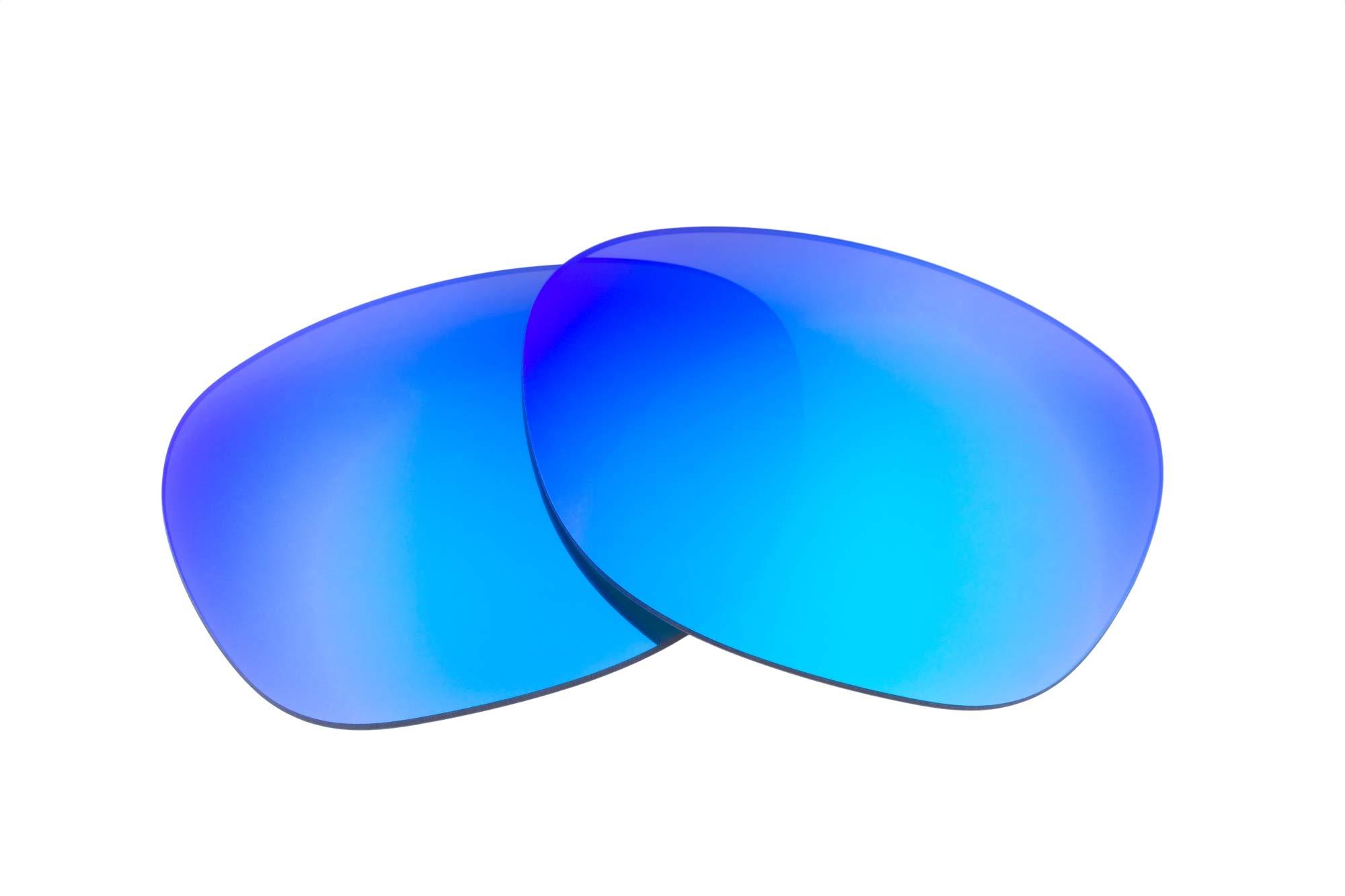 LenzFlip Replacement Lenses Compatible with Ray Ban RB2132-55mmGray w/Blue by LenzFlip