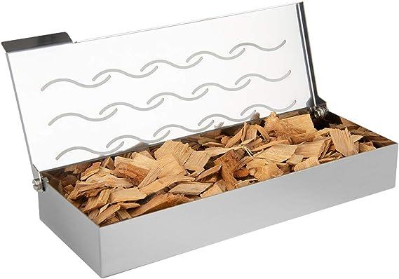 Onlyfire FPA-5115 Caja Ahumadora de Acero Inoxidable, Fumador de ...