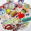 Laptop Stickers 200 pcs TCT TECH Car Motorcycle Bicycle Luggage Decal Graffiti Skateboard Stickers for Laptop Bumper