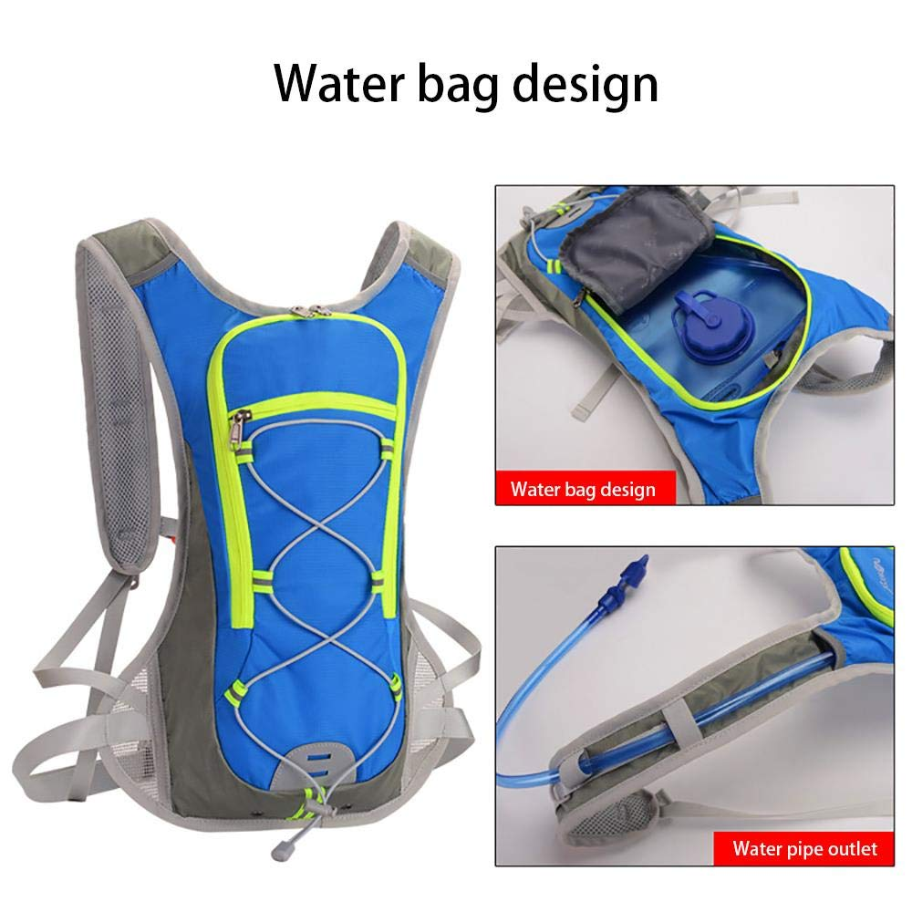 Beststar Lightweight Hydration Backpack with Water Bladder Hydration Rucksack Suitable for Outdoor Hiking Running Cycling Camping Climbing Sports Perfect for Men Women /& Kids #SDBB-01