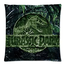 Amazing Jurassic World Movie Poster Custom Zippered Pillowcase Pillow Cases Cover Home Decorative 16 * 24 Inch (One side)