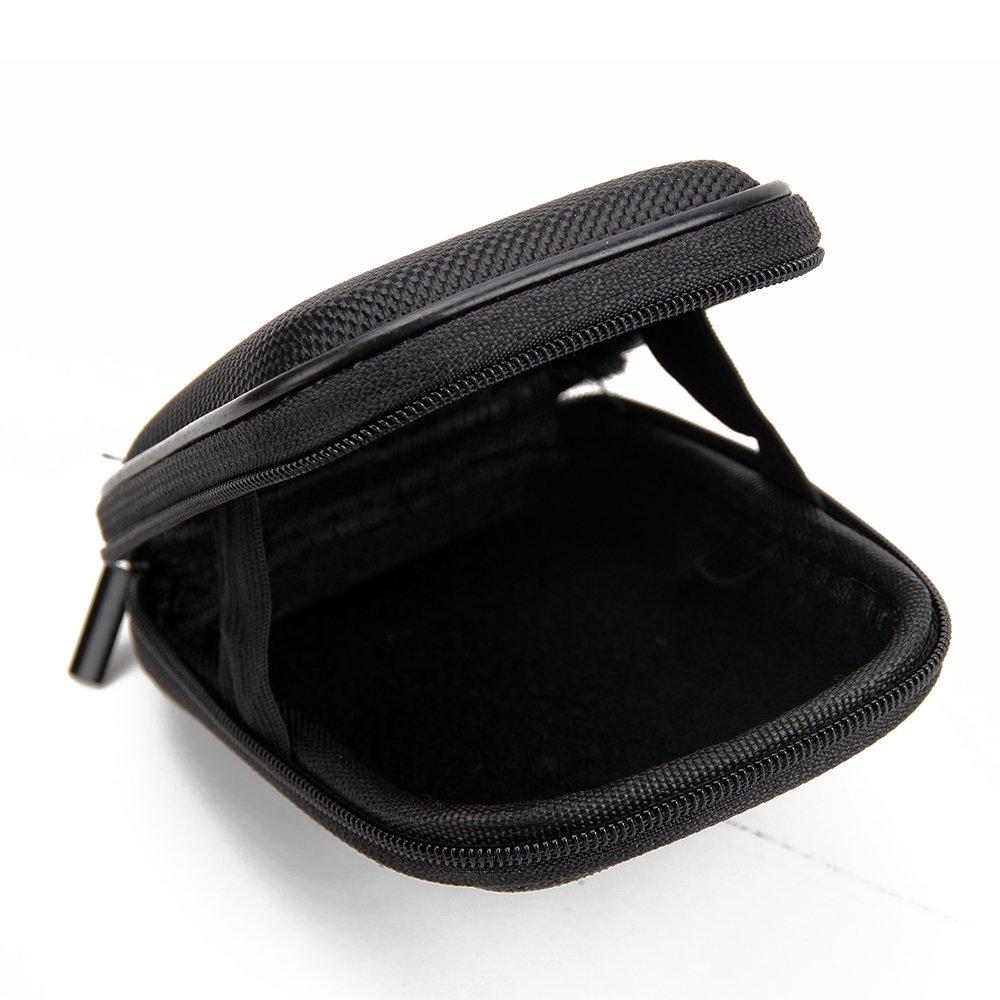 K-S-Trade pour Nikon Coolpix A100 Hard Case Mallette De Transport Housse Dure /Étui Puchette Sac De Protection pour Appareil Photo Antichoc 1x Noir