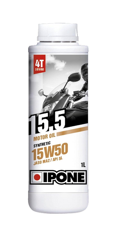 Ipone 800061 Huile Moteur 15.5 4 Temps Synthé tique 15W50 IPONE SA