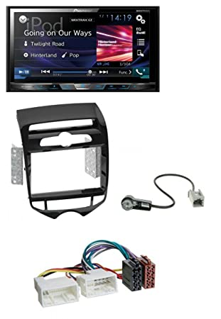Pioneer x580 0dab DVD 2DIN Bluetooth DAB USB MP3 Radio de coche para Hyundai iX20 a partir de 10 autom. climática: Amazon.es: Electrónica