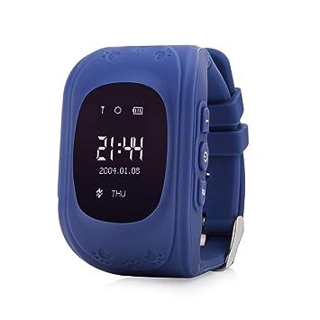 Kid Smartwatch con GPS y Llamadas Wonlex Q50 Original para niños. Reloj Inteligente con GPS, Localizador GPS para niños. Pulsera con GPS Infantil ...