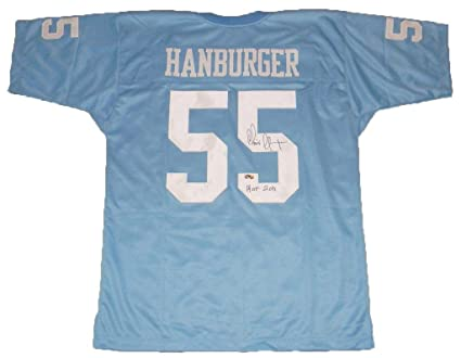 At Tar Heels Hanburger - Nfl Collectibles Carolina North Autographed Jerseys Throwback 55 Store Amazon's Jersey Chris Sports