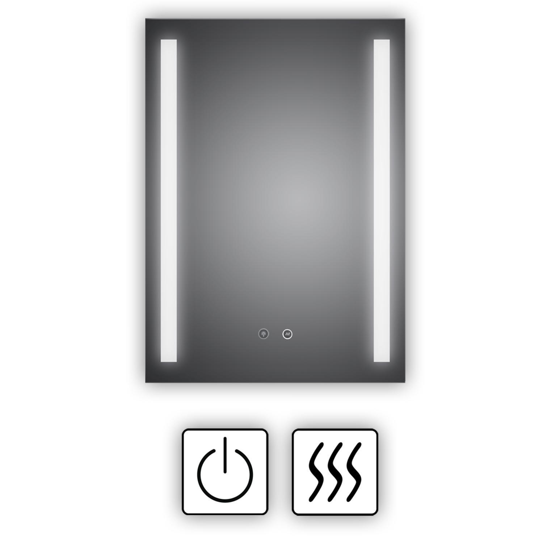 Energieklasse A+ WEEE-Reg. Nr.: DE 40647673 HOKO/® Badezimmerspiegel mit LED Stuttgart 60x80cm LED Bad Spiegel