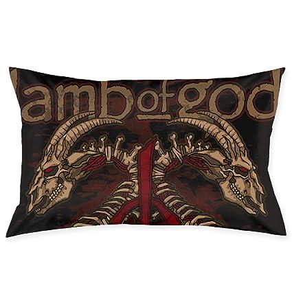 Amazon.com: Fundas de almohada decorativas de poliéster con ...