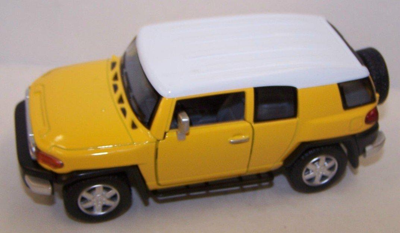 1//43 Cararama Toyota FJ Cruiser with Speed Boat /& Trailer Diecast Blue 48116
