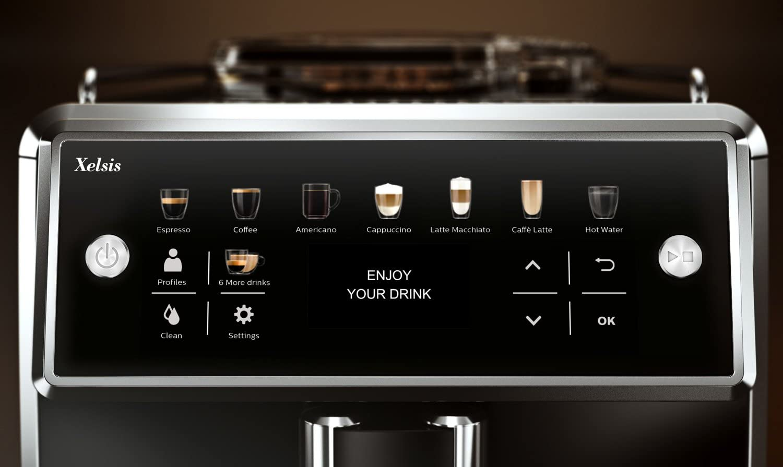 Saeco Xelsis SM7580/00 - Büro Kaffeemaschine