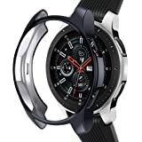 Case Compatible with Samsung Galaxy Watch 46mm, NAHAI TPU Slim Plated Case Shock-Proof Cover All-Around Protective…