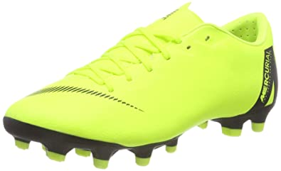 on sale 91b21 fd566 Nike Vapor 12 Academy MG, Zapatillas de Fútbol Unisex Adulto  Amazon.es   Zapatos y complementos