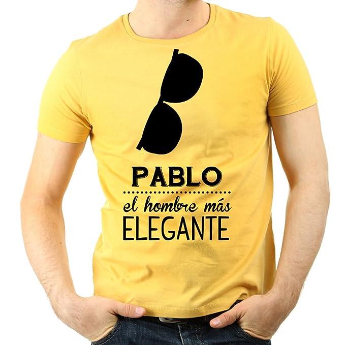 Calledelregalo Camiseta personalizada Hombre elegante - Regalo personalizado para los hombres más elegantes (