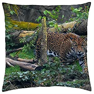 Leopard - Throw Pillow Cover Case (18
