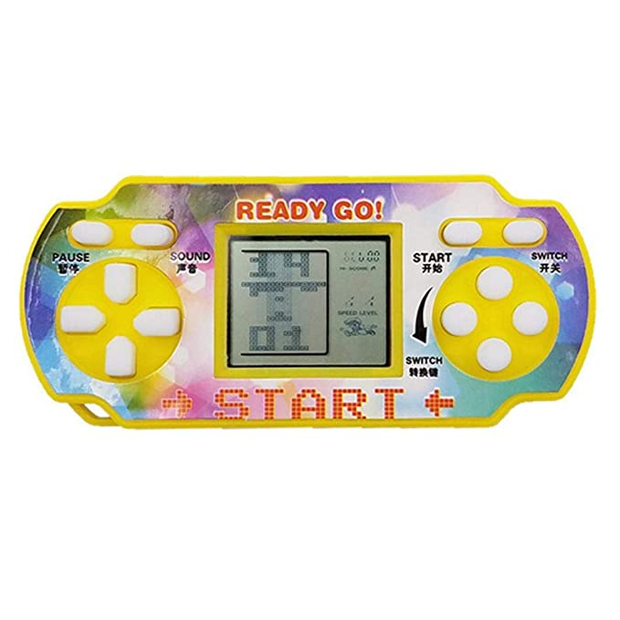 GuGio Mini Handheld Game for Tetris Racing Car Puzzle Game Kids Toy Xmas Gifts