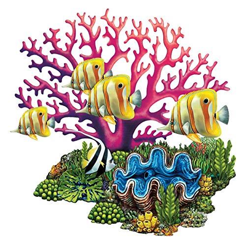 Coral Reef Porcelain Swimming Pool Mosaic (25