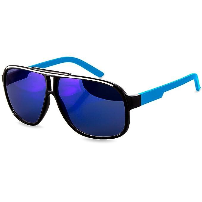 Caspar SG023 Gafas de Sol Unisex de Estilo Retro - Con una ...