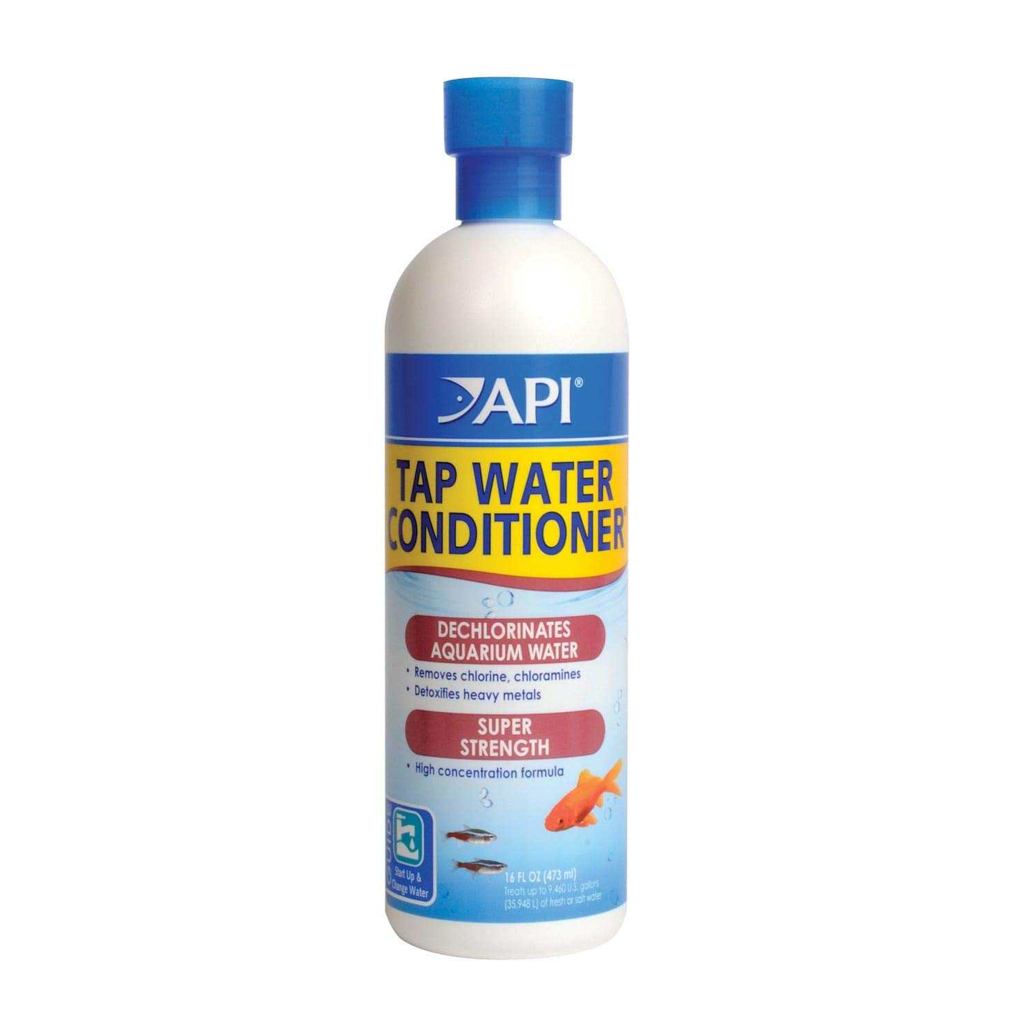API TAP Water Conditioner, Instantly neutralizes Chlorine, chloramines and Other Chemicals to Make tap Water Safe for…