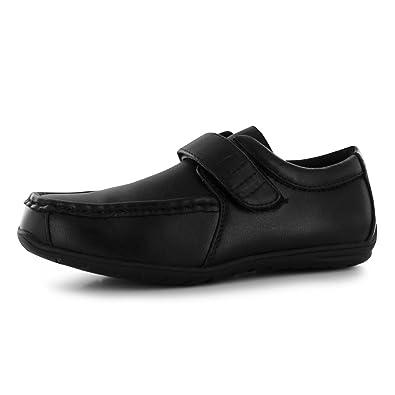 cheapest fantastic savings sports shoes Giorgio Kids Bexley Velcro Shoes Boys School Shoes Brogue: Amazon ...