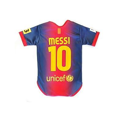 Amazon.com: Messi bebé traje 0 – 9 meses Barcelona Home 2012 ...