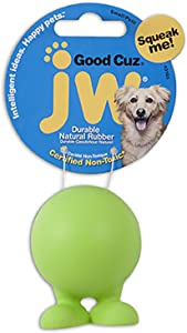 JW Pet Company Good Cuz Dog Toy, Small (Colors Vary)